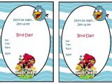 Angry Birds Birthday Party Invitation Template Free 68 Best Angry Birds Images On Pinterest
