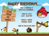 Angry Birds Birthday Party Invitation Template Free Birthday Invitations Angry Bird Invitations Templates