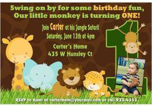 Animal themed Birthday Party Invitation Wording 17 Safari Birthday Invitations Design Templates Free