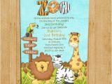 Animal themed Birthday Party Invitation Wording Zoo Birthday Invitation Jungle Animals Custom and