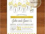 Anniversary Party Invitation Template Wedding Anniversary Party Printable Invitation by