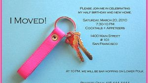 Apartment Warming Party Invitation Wording Come Party with Me Half Birthday Housewarming Invite