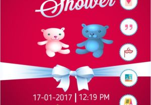 App for Baby Shower Invitations App Shopper Baby Shower Invitation Cards Maker Hd