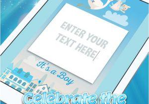 App for Baby Shower Invitations App Shopper It S A Boy Baby Shower Invitations Graphy