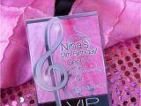 Ariana Grande Birthday Invitations Rock Star Birthday Birthday Party Ideas