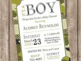 Army themed Baby Shower Invitations Camo Baby Shower Invitation Army Baby Shower Invitation