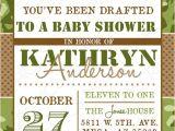 Army themed Baby Shower Invitations Camo Boy Baby Shower Invite Military Baby Shower