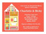 Around the House Bridal Shower Invitations Around the House Couple Wedding Shower 5×7 Paper