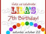 Art themed Birthday Party Invitations Art themed Birthday Party Invitations Free Invitation