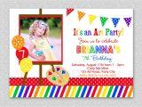 Art themed Birthday Party Invitations How to Make Art Party Invitations Free the Art themed
