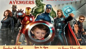 Avengers Birthday Invitations Custom Items Similar to Avengers Birthday Invitation Personalized