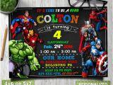 Avengers Party Invitation Template Avengers Birthday Invitation Avengers Invitation Avengers