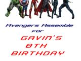 Avengers Party Invitation Template Avengers Birthday Invitation Template Postermywall