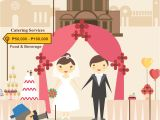 Average Cost for 100 Wedding Invitations How Much Does A Wedding Cost In the Philippines for 2016