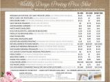 Average Cost for 100 Wedding Invitations Printing Price List for Wedding Invitations and Coordinating