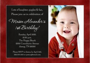 Baby Birth Party Invitation Card Color Photo Baby 39 S Birthday Invitation Favorite Design