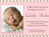 Baby Birth Party Invitation Card Thank You Birth Announcements Birth Announcements Templates