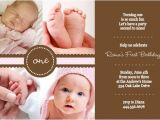 Baby Birth Party Invitation Wording 1st Birthday Invitation Wording Ideas From Purpletrail