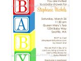 Baby Block Baby Shower Invitations 6 Best Of Baby Blocks Printable Printable Baby