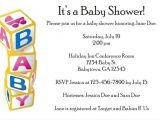 Baby Block Baby Shower Invitations Baby Blocks Baby Shower Invitation Personalized Party Invites