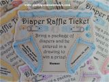 Baby Boy Shower Invitations with Diaper Raffle Unique Personalized Diaper Raffle Fund Ticket Baby Shower