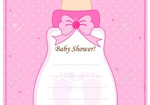 Baby Diaper Shower Invitation Template Baby Shower Invitations for Girls Templates