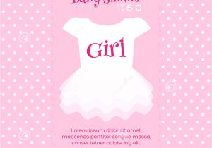 Baby Diaper Shower Invitation Template Girl Baby Shower Invitations Templates