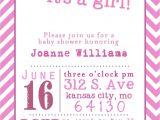 Baby Girl Shower Invitations Printables Template Free Printable Baby Shower Girl Invitation