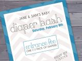Baby Shower and Diaper Party Invitation Wording Diaper Party Invitation Wording Template