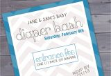 Baby Shower and Diaper Party Invitations Diaper Party Invitation Wording Template Best Template