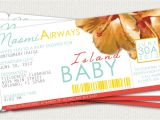 Baby Shower Boarding Pass Invitations Boarding Pass Baby Shower Invitation by Leitsispieces On Etsy