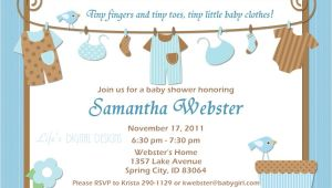 Baby Shower Boy Invitation Ideas Ideas for Boys Baby Shower Invitations