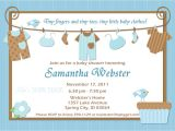 Baby Shower Invit Ideas for Boys Baby Shower Invitations