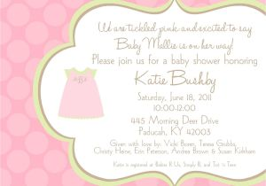 Baby Shower Invitation Ideas for Girls Baby Shower Invitation Ideas for Girls