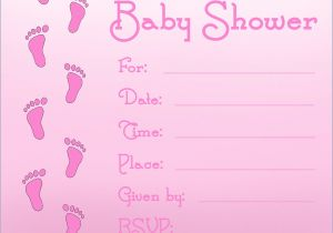 Baby Shower Invitation Ideas for Girls Baby Shower Invitations for Girls Templates
