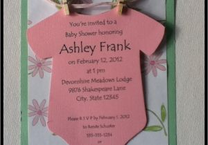 Baby Shower Invitation Ideas for Girls Baby Shower Invitations Ideas for Girls