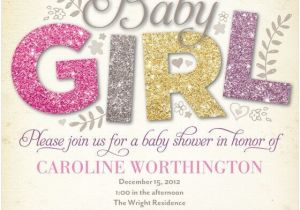 Baby Shower Invitation Ideas for Girls the Reference to Get Baby Shower Invitation Ideas