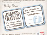 Baby Shower Invitations and Diaper Raffle Tickets Instant Download Printable Baby Shower Diaper Raffle Tickets
