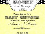 Baby Shower Invitations Bumble Bee theme Bumble Bee Baby Shower Invitations Digital or Printable File
