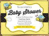 Baby Shower Invitations Bumble Bee theme Bumblebee Baby Shower Ideas Baby Ideas