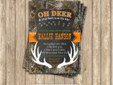 Baby Shower Invitations Camouflage Hunting Camo Baby Shower Boy Deer Hunting Printable Invitation 5×7
