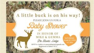 Baby Shower Invitations Camouflage Hunting Camo Baby Shower Invites