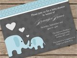 Baby Shower Invitations Elephant Elephant Baby Shower Invitations Baby Shower Decoration