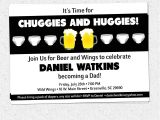 Baby Shower Invitations for Men Chuggies and Huggies Beer and Diaper Party Invitation