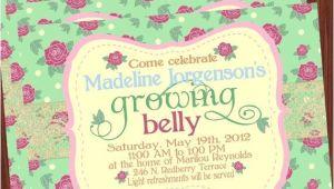 Baby Shower Invitations Garden theme Garden theme Baby Shower Invitations
