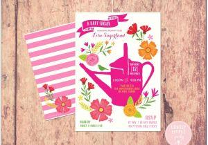 Baby Shower Invitations Garden theme Garden themed Baby Shower Invitations Download Page – Baby