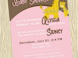Baby Shower Invitations Giraffe theme Baby Shower Invitations Cute Giraffe Baby Shower