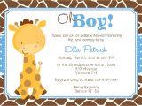Baby Shower Invitations Giraffe theme Giraffe Baby Shower Invitation Baby Sprinkle Diy Print Your