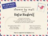 Baby Shower Invitations Mailed for You Long Distance Baby Shower Shower by Mail