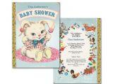 Baby Shower Invitations Storybook theme Baby Shower Invitation for Storybook theme Printable